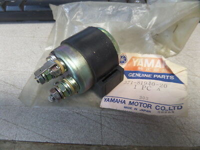 NOS Yamaha Starter Relay 1973 - 1977 TX500 XS500 371-81940-20