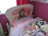 Childs single motif bed
