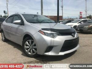 2014 Toyota Corolla LE | CAR LOANS FOR ALL CREDIT