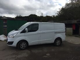 Ford transit custom limited £10500