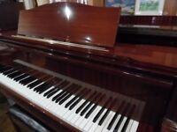 grand piano by august forster 6ft