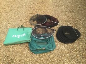 VGC Maver keep and landing net combo and 2 other keep nets