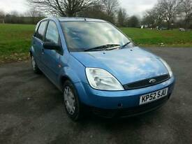 Ford Fiesta 1.3 Petrol 5 Door in Blue LOW MILEAGE not corsa, clio, 206, saxo, polo