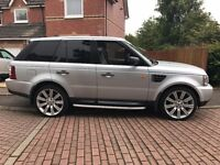 Range Rover Sport, 2006, TDV6, HSE A, Metallic Silver, 2.7 Auto, Cream Leather Interior, Sat Nav.