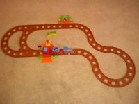 Happyland train with track extension