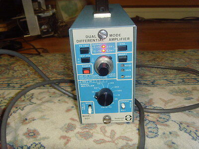 Sundstrand Data Control Inc Model 507 Dual Mode Differential Amplifier-free Ship