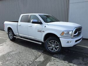 2017 Ram 2500 Longhorn Limited +0%, Cummins, Sellette, Susp Air+
