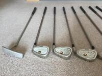 Ladies golf clubs right handed Mitsushiba irons and woods