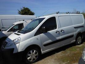FIAT Scudo Panel Van, 2 Ltr Diesel, 1 former Keeper, Service History, 121,000 miles