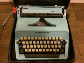 Willy Scheidegger Typomatic typewriter and case