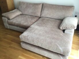 3/4 seater - left or right corner chaise