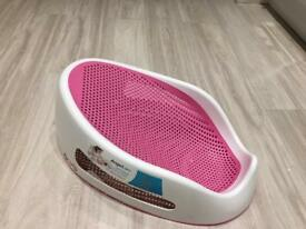 Angelcare pink bath seat support excellent condition