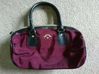 Purple handbag Victorias Secret