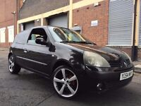 Renault Clio 2005 1.2 16v Dynamique Hatchback 3 door Manual HUGE SPEC, IMMOBILISER, ALLOYS, BARGAIN