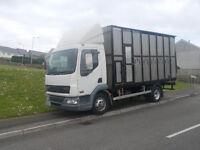 2006 Daf Lf Horsebox alloy body 45/180