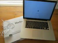 Apple Macbook pro 2011, 15 inch, Core i7, 8gb ram, 256gb SSD, Boxed
