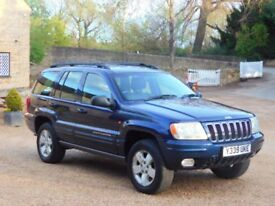 Jeep Grand Cherokee 3.1 CRD Limited Station Wagon 4x4 5dr LOW MILES 79K COMPLETE HISTORY