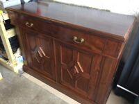 Mahogany vintage sideboard