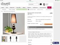 WANTED - DWELL TABLE LAMP IN SILVER /GREY
