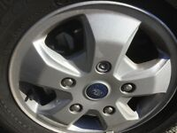 Ford transit custom wheels & tyres all of a 16 plate covered only 700 miles all mint condition