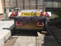 3ft x 4ft Trailer with Electrics Board