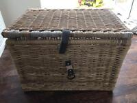 IKEA Byholma wicker rattan chest