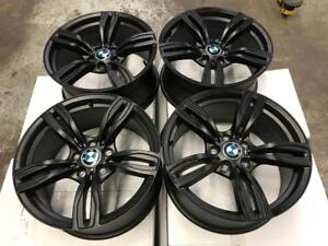 "18"" BMW X5 M5 Style Matt Black Wheels"