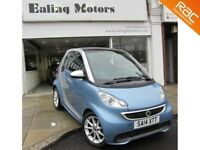2014 SMART FORTWO COUPE, AUTOMATIC,PETROL,SAT NAV,BLUETOOTH,DVD PLAYER,FULL HISTORY,AIRCON,WARRANTY
