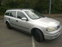 Vauxhall opel Astra Club Estate manual MOT