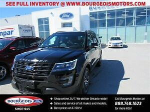 2016 Ford Explorer 4DR SPORT 4WD REVERSE CAMERA