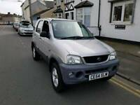 54 PLATE DAIHATSUI TERIOUS .4X4. 1.3 PETROL. 11 MONTHS MOT. PX WELCOME