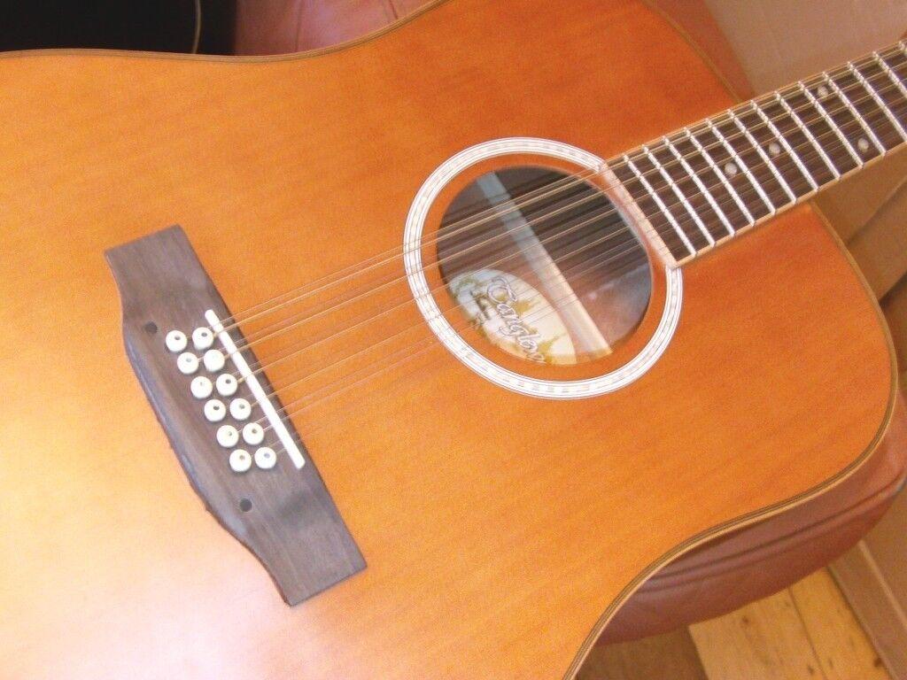 12 string guitar tanglewood