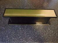 """12"""" Avocet Gold Letter Box"""