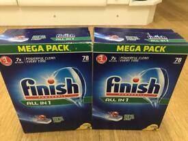 Over 120 Finish Powerball Dishwasher Tablets