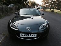 Mazda MX5 Hard Top Convertible - Low mileage, Grey Metallic, Excellent condition