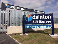 Dainton Self Storage Bristol offers 50% off storage for domestic & 2 free months for Business users.