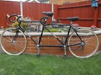BARRON TANDEM 531 FRAME FORKS SIZE 22in FRONT 19in REAR LIGHT WEIGHT RACING TANDEM