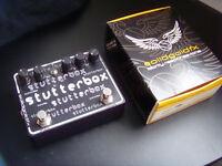 Solidgoldfx Stutter box, tremolo, guitar pedal, perfect condition. Solid Gold FX.