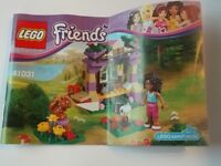 LEGO FRIENDS ANDREA'S MOUNTAIN HUT 41031