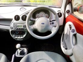 Unusual Gleaming Low Mileage Ford KA. A Cracker. SH. Long MOT. Drives As New. Any Inspection.