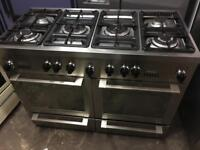 De Dietrich range gas cooker and electric ovens 120cm