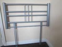 Metal single bed headboard