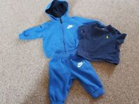 Baby boys 3-6 months Nike tracksuit & Polo Ralph Lauren T-shirt