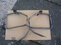 Givi luggage racks and Monokey plate Honda Hornet 04