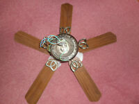 Ceiling Fan with 3 Lights - Perfect for Conservatory