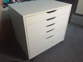 Ikea Alex large narrow drawers chest