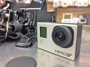 Camera GO PRO HERO 3+  ***BEAUCOUP D'ACCESSOIRES***  #F021302