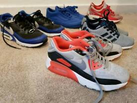 Boys Junior size 3 trainers