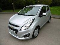 Chevrolet Spark LT LOOK @ THE MILEAGE (star silver metallic) 2013