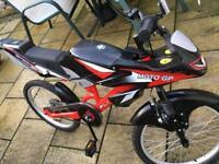 Mountain bike Flute moto-go action bike